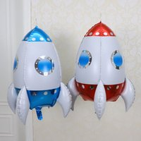 24 Inches Balloon Rocket Shaped Children Birthday Party Decoration 20   package