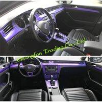 Car-Styling 3D 5D Carbon Fiber Car Interior Center Console Color Change Molding Sticker Decals For VW Passat B8 2017-2019