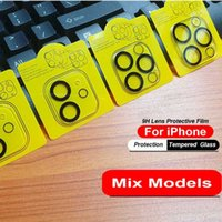3D Transparent Camera Lens Tempered Glass For iPhone 13 ProMax camera Screen Protector For iPhone 12 11 mini Pro Max
