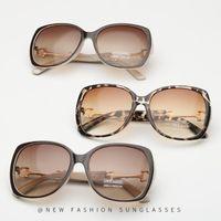 Lunettes de soleil Abay Grand Square Femmes De Designer Leopard Sun Lunettes pour Mesdames Mode Trendy Eyewear Hommes Conduite UV400 Oculos