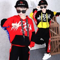 Casual Kids Boys Clothing Sets Baby Boy Clothes Two Pieces Sporting Suits Hooded Sweatshirts +leggings Pants Autumn Clothes 201127