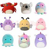 Stock Squishmallow Kawaii Big Squish Animal Unicorn Piggy Dinosaur Cat Octopus Soft Stuffed Plush Doll Pillow Chair Cushion Kids Toys