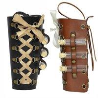 Maschere per feste Victorian Lady Steampunk bracciale bracciale bracciale con fiale Retro Gothic Gear Gear Braccialetto Larp Alchemist Costume Accessorio per le donne