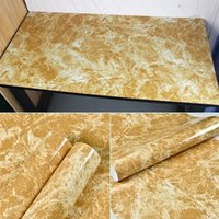 대리석 비닐 필름 자기 접착 방수 벽지 욕실 주방 찬장 조리대에 대 한 PVC 벽 스티커 513 R2