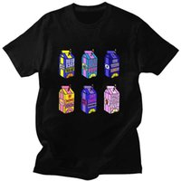 Korean Style Lyrical Casual Oversized Fashion Streetwear T Shirt Mens Lemonade Harajuku Summertime Funny Cotton Tshirt Pfmjl