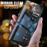 Смарт зеркальный чехол для Samsung Galaxy S10 S8 S9 PLUS S10E S7 S6 Edge Note 10 8 9 J3 J5 J7 A3 A5 A7 2017 A6 A8 2018 Обложка