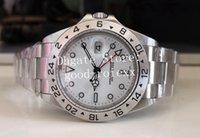 5 Estilo Men's Watch Watch White Black BP Factory Watches Asia 2813 Mecânico 1655 Homens Data 70's Aniversário 1675 Esporte 16570 Explorer Antique 114270 Relógios de pulso