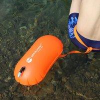 Piscine accessoires 1pcs baignade flotteur sac imperméable pvc gonflable bouée bouée eau sport sauveteur vie pneu à air sèche remorquage voile flottation