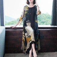 Casual Dresses 4XL Summer Dress 2021 Woman Floral Plus Size Robe Elegant Party Beach Vintage Long Lady Clothes Vestido De Mujer