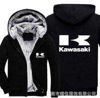 2021New Imprimer Barcelona Kawasaki Sweat à capuche Zipper Épaissement Vestes Manteaux Cardigan Lumineux Hommes Sweats Hip Hop Sweatshirts