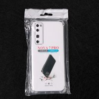 Klare stoßfeste Fälle 1,5mm Transparent Weiche TPU Cover Handy Case für Huawei Nova 8 SE Nova8 Pro 7 Nova7 7i 6 5 5z Nova5 5i P20 Lite 4 4e