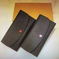 Classic EMILIE Flap Button Women Long Wallets Exotic Leather Zipper Coin Purse Woman Card Holder Clutch Bag M60697 M61289 N63544