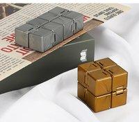 TIKTOK Infinity Magic Cube Toys Creative Sky Antistress Office Flip Cubic Puzzle Mini Blocks Decompression Fidget Toy Multi Colors