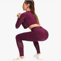 Normov sem costura yoga set esportes terno mulheres treino esportes outfit fitness set desgaste woat workout workout roupas