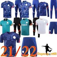 21 22 كرة القدم الفانيلة CFC كرة القدم قميص Kante Giroud Pulisic Mens Werner Mount Ziyech Lampard Kids Havertz Kit T. Silva Abraham Set Chilwell