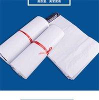 Beyaz Kurye Çantası Kendinden Yapışkanlı Poli Mailer Beyaz Poly Posta Sonrası Zarf Torbaları Plastik Ekspres Kurye Çantaları 632 S2