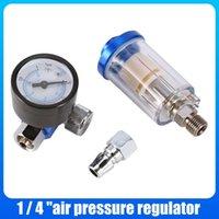 Professional Spray Guns Pneumatic Sprayer Air Regulator Gauge Oil Water Trap Filter Separator For Automotive Refinish Paint Separators Unit