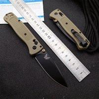 S30V désert BM535S Axis BM940 Couteau BM550 BLADE FRN BM535 BENCHMADE POIGNAGE COULEUR DE COUCHES BM9600 BM42 Pliants LKLHQ