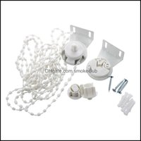Curtain Deco El Supplies Home Gardencurtain & Drapes Roller Blind Shade Cluth Bracket Bead Chain 28Mm Kit Drop Delivery 2021 2Tfcz