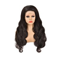 Wholesale Virgin Brazilian Natural wigs 13X4 Body Wave Lace Fronta Real Human Hair curly Wig
