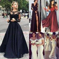 Casual Dresses Elegant Women Lace Chiffon Formal Wedding Bridesmaid Long Party Ball Prom Gown Dress Womens Sleeveless