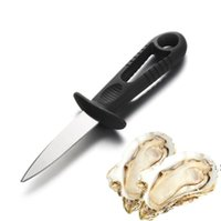 Strumento di ostrica in acciaio inox Coltello da frutti di mare per la conchiglia di pesce Apertura multiuso Multi Uso Coltelli aperti Ostrisce e conchiglie direttamente DHL BWF6720