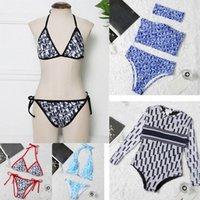 Fashion Mix 18 Stili Donne Costumi da bagno Bikini Set 2 pezzi Multicolors Tempo di estate Spiaggia Abiti da bagno Vento Costumi da bagno Sexy Abiti da bagno J8DZ #