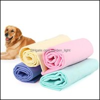 Pet Supplies Home & Gardenpet Dog Bath Towel Soft Water-Absorption Hair Dry Towl Washing Aessories Tsh Shop Grooming Drop Delivery 2021 Htwq
