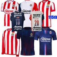 2021 2022 Guadalajara Soccer Jerseys Chivas Regal Macias I.Brizuela A.vega Home Away 3rd 20 21 22 115th كرة القدم الرجال قميص S-3XL