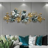 Light Luxury Sofa Background Wall Hanging Exhibition Hall Household Living Room Porch Stereoscopic Wrought Iron Dream Catcher Decorative Obj