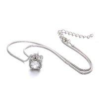 Collier de concepteur Luxe Bijoux Alliage Type géométrique Femme Pendentif Ornements Charms pour faire Wome