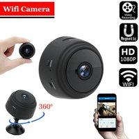 Araba Dikiz Kameralar Park Sensörleri SQ6 Wifi Mini Kamera 1080 P Full HD Nanny Cam 6LED IR Gece Görüş Hareket Algılama Mikro Gözetim
