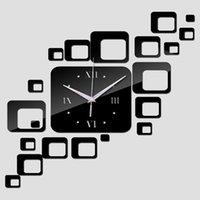 Orologi da parete 2021 Time-Limited Quarzo Della Decorazione Della Casa Offerta Speciale Specchio Acrilico orologio Modern Design Watch Sticker