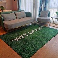 WET GRASS Rug Carpet Living Room Decoration Bedroom Bedside Bay Window Area Rugs Sofa Floor Mat 211012