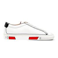 Hombres Casual Sneaker Tráfico Reglas de tráfico Lace-up Hampeing Anti-Skid Streetwear Vestido blanco Marca de lujo diseñador de moda zapatos de moda para hombre