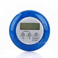 주방 타이머 LCD 디지털 카운트 다운 백 스탠드 타이머 카운트 업 알람 시계 가제트 요리 도구 7BGP