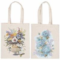 Pencil Bags Pouch Diamond Painting Bag DIY Tools Kit Handbag Shopping For Home School Pen Case