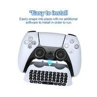 تحكم اللعبة المقود ل ps5 مقبض بلوتوث اللاسلكية لوحة المفاتيح الخارجية يمكن دردشة الصوت
