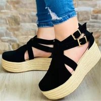 Sandals Thick-soled Large Size Women's Summer Fashion Casual Womens Shoes Breathable Platform Women Slides Slippers