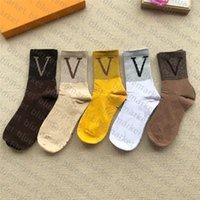 Klasik Stil Rahat Çorap Unisex Koşu Spor Stocking Hafif Esneklik Sıcak Uzun Çorap Parlak İpek Pamuk Çorap