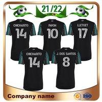21/22 MLS La Galaxy Soccer Jerseys 2021 بعيدا Mailleots de Foot Chicharito Pavon LoLTGet J.Dos Santos Football Cheartys