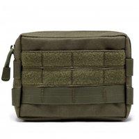 Multifunktionell mini taktisk militär modulär molle påse midja väska camo casual waist pack verktyg verktyg mobiltelefon väska 386 z2