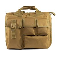 군사 배낭 전술적 몰 나일론 메신저 어깨 가방 노트북 핸드백 서류 가방 야외 다기능 등반 가방