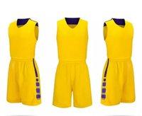 Высшее качество ! Команда Баскетбол Джерси Мужчины Pantaloncini da Корзина Спортивная Одежда Белый Черный Красный Фиолетовый зеленый 00123 03