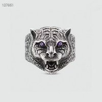 Panthere series vintage retro advanced Rings With Side Stones factory direct sales 2021 new highquality European size fashion Lettering classic style Jewelry