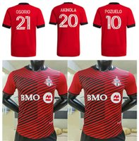 2021 2022 Versión del jugador Toronto FC Soccer Jerseys Home Kit 22 21 Camisetas Bradley Altidore Pozuelo Akinola Osorio P. Piatti Camisetas de fútbol Uniforme