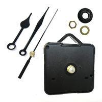 DIY кварцевые часы перемещения набор черные часы аксессуары шпинделей механизм ремонт с наборами рук висит часы аксессуар LZ0442