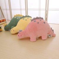 Bolha dragão brinquedos de pelúcia macio pelúcia desenho animado animal dinossauro boneca sofá decoração almofada almofada crianças aniversário melhor presente
