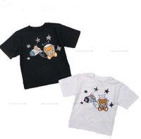 Kinder Jungen Mädchen T Shirts Kurzarm Kinder Tees Baby Tops O Neck Cartoon Casual Kid Hemd Designer Kind Kleidung Sommer