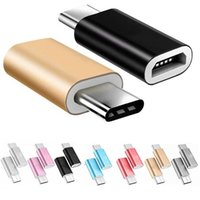 Micro Usb Female To Type-c Converter Alloy Adapter for Huawei Oneplus Xiaomi Otg Data Charging Charger Cable